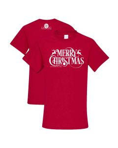 SC Merry Christmas Tee Red
