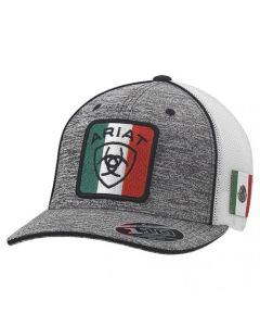 Ariat Hat Mexican Flag Logo