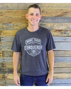 More Conquerer Tee Vin Charcoal