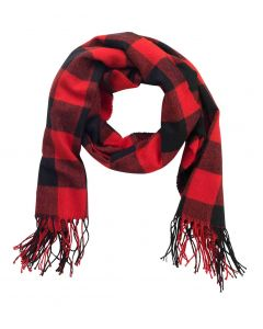Red Buffalo Check Adaline Scarf