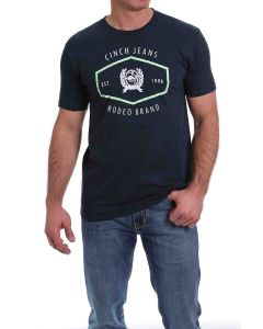 Cinch Heather Navy SSL Tee