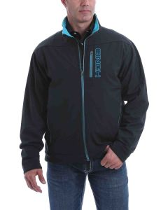 Cinch Black-Blue Solid Bonded Jacket
