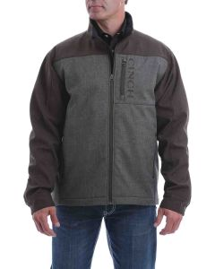 Cinch Brown Color Block Bonded Jacket