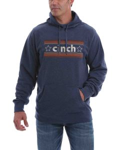 Cinch Pullover Hoodie Heather Navy