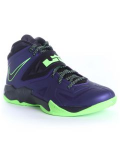 Nike Lebron Zoom Soldier Purple-Lime