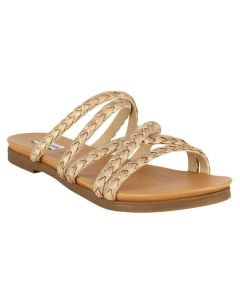 Not Rated Elion Gold Sandals
