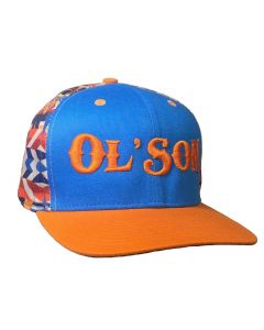 Ol Son Navajo Orange Hat