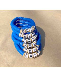 Owls Royal Blue Bracelet