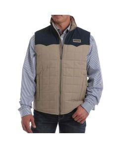 Cinch Wax Coated Quilted Vest
