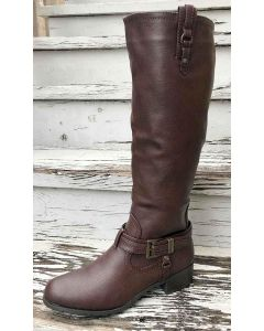 Rampage Idera Riding Boots Brown