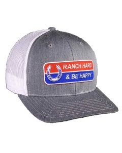 Ranch Hard and Be Happy Hat