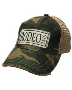 Rodeo Girl Camo Snap Back Hat