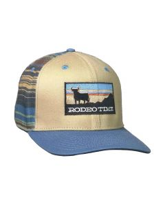 Rodeo Time Sunset Serape Hat