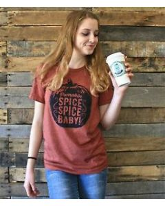 Spice Spice Baby Tee Vintage Clay
