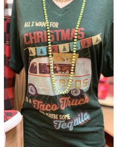 Christmas Taco and Tequila Tee