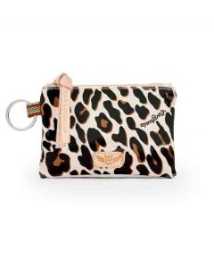 Consuela Teeny Pouch Mona Brown Leopard