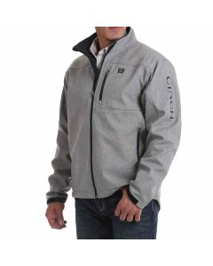 Cinch Texture Bonded Jacket Gray