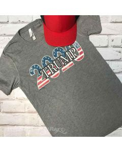 Trump 2020 T-Shirt Gray