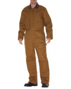 Insulated Coveralls Brown Duck