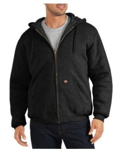 Heavyweight Fleece Hoodie Black