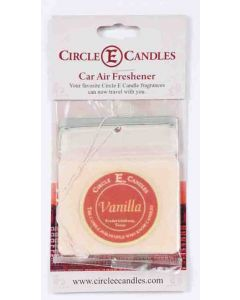 Circle E Car Air Freshener Vanilla