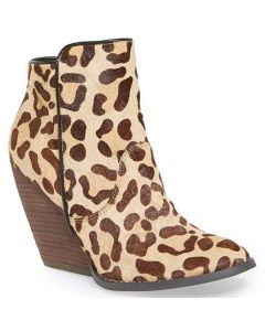 Very Volatile Tan Leopard Boots