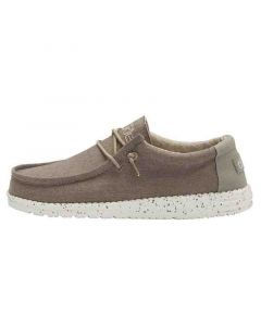 Hey Dude Shoes Wally Chambray Sepia Brown