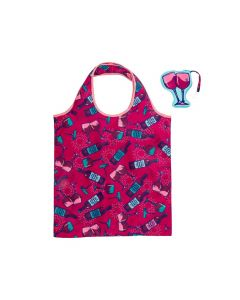 Wit Shopping Tote Wine