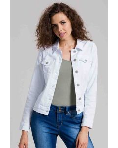 Royalty Denim Jacket White