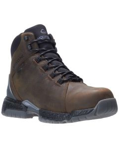 Wolverine Men's I-90 Rush Carbonmax Safety Toe 6-inch Brown Work Boots