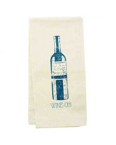 wit! Hand Towels Wine Oh