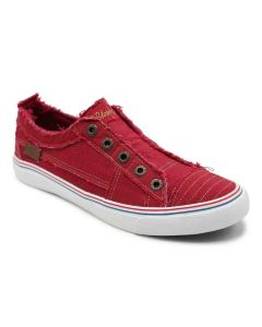 Blowfish Play Jester Red Cozumel Linen Sneakers