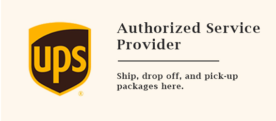 UPS Authorized Service Provider • Ship, drop off, and pickup packages here.